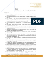 Cuestionario Liderazgo Kurt-Lewin