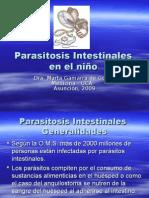 Parasitosis Intestinales en El Nino