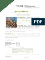 Pds Rice Bran Oil TX-008272