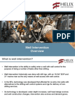 Well Intervention Overview Helix