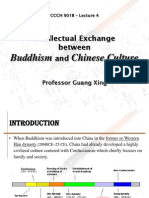 Lecture 4 Intellectual Exchange Between Buddhism and Chinese Culture