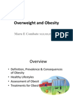 Overweight and Obesity Lecture