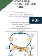02-Osteophysiology Calcium Homeostasis