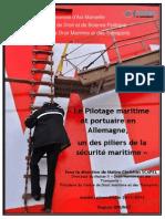 Le Pilotage Maritime Et Portuaire en Allemagne
