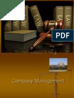 Company Management Ppt