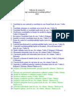 Drept Const Subiecte 2012
