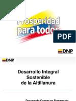 Borrador CONPES Altillanura 2012