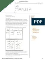 Sistemas Estructurales Vi