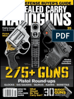 Concealed Carry Handguns - 2015 USA