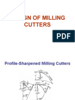 Design of Milling Cutters