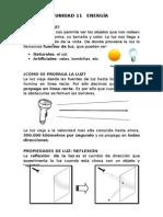 Tema 11. La Luz y Sus Propiedades.