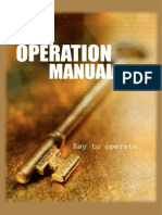 Banquets Operations Manual 2007