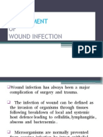 Management Infected Wound