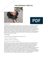Dynamic Effort Per Strongman