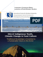 EALLU Presentation to the Arctic Council SDWG