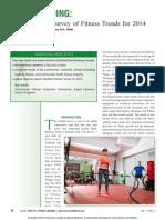 Now Trending Worldwide Survey of Fitness Trends.5
