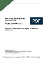 perkins 2300 workshop manual