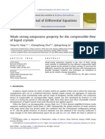 Weakstrong Uniqueness Property for the Compressible Flow