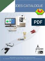 Electrodes pour ERG