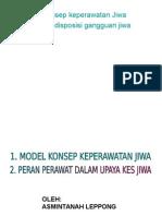 Model Konsep Keperawatan Jiwa & Proses Keperawatan