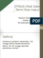 Serotinus