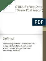 Serotinus Presentasi