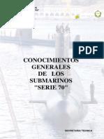 Conocimientos Submarinos S-70