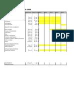 Cronograma General de Obra