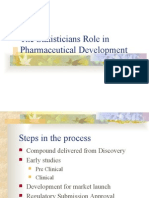 The Statisticians Role in Pharmaceutical Development.ppt