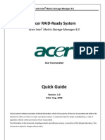Acer RAID-Ready System_Intel Matrix Storage Manager