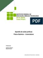 Praticas de Fisico-Quimica - Licenciatura - IfRJ[1]