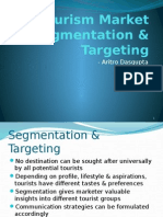 Tourism Market Segmentation & Targeting