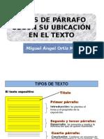Tipos de Párrafos en Tecsup - Copia