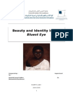 Beauty and Identity in The Bluest Eye.docx