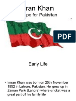 Imran Khan a hope for Nation