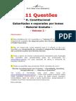 1111 Questões Direito Constitucional Volume 2
