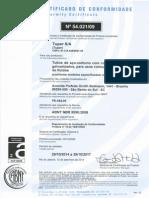 Certificado ABNT 5590 _ 2014
