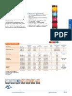 Edwards Signaling 101SINHG-G1 Data Sheet