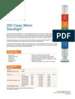 Edwards Signaling 236LEDSG24AD Data Sheet