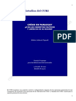 Estudios del CURI. Heber Arbuet- Vignali