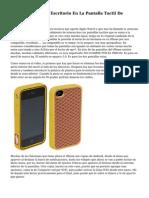 Fuffr Convierte Tu Escritorio En La Pantalla Tactil De IPhone