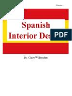 interior design 2 spanish research paper