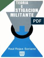 Teoria e Investigacion Militantes Rojas Soriano