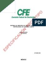 g0100-05 Sistema de Medicion de Energia Electrica Centralizada en Gabinete
