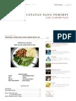 Proposal Usaha Mie Ayam Jamur Buto Ijo
