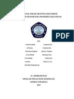 Proposal Stimulasi Sensori