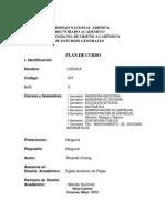 107 LOGICA PLAN DE CURSO UNIVERSIDAD NACIONAL ABIERTA VENEZUELA