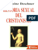 Historia Sexual Del Cristianism - Karlheinz Deschner