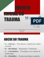 Atendimento Inicial oo Trauma - ATLS