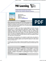 Modern Inertial Sensors and Systems, By Bose, Amitava, Puri, Somnath, Banerjee, Paritosh _ 978-81-203-3353-6 _ Phi Learning